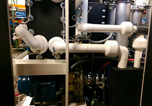 Engineered Heat Exchanger with Water Purification