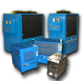 Coolant Chillers : Air Cooled Chillers Water Cooled Chillers