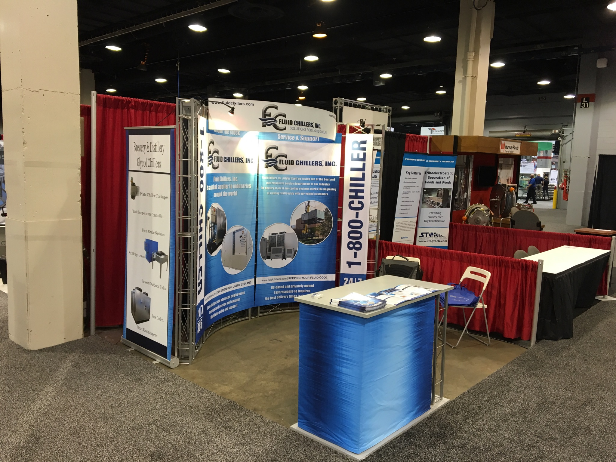 Booth at The Process Expo In Chicago