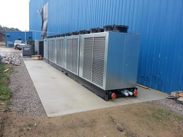 Multi circuit chiller