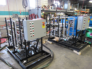 direct injection multi circuit mold temperature control systems